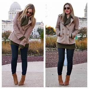 working girl - classic peacoat - Allyson in Wonderland