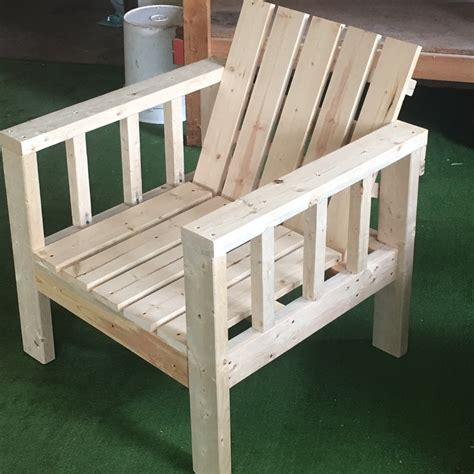 simple outdoor lounge chair   modification ana