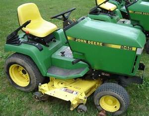 John Deere 240 245 260 265 285 320 Lawn Garden Service