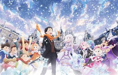 Zero Re Seikatsu Kara Characters Anime Isek