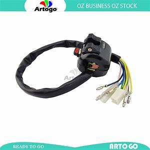 7  8 U0026quot  Left Hand Switch Block Lights Horn Indicators Yamaha Dt 250 It Tt Xt 600 Wr