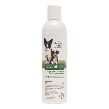 advantage flea tick treatment shampoo  dogs puppies