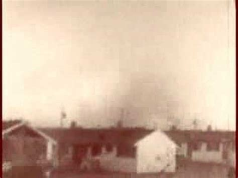 1953 Warnerrobins Air Force Base Georgia Tornado Youtube