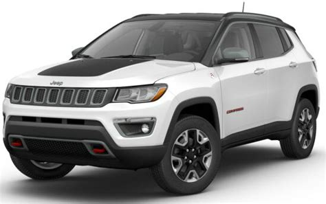 jeep compass trailhawk white clear black clearo