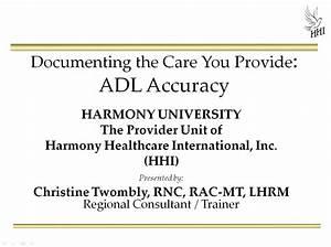 Adl Accuracy