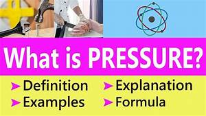 What is Pressure in Physics with Examples & Formula ...