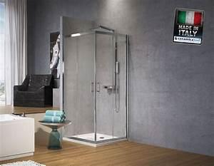 Box Doccia Rettangolare 90 X 110 Novellini Zephyrosa Cristallo 6 Mm Anticalcare Certificato