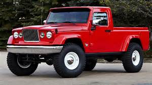2017 Jeep Wrangler Pickup Truck Coming