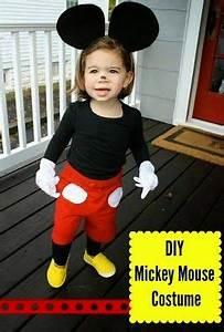 Mickey Mouse Kostüm Selber Machen : diy halloween costume mickey mouse girls pinterest ~ Frokenaadalensverden.com Haus und Dekorationen