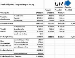 Deckungsbeitrag Berechnen Excel : unternehmensberatung f r anbieter technischer produkte ~ Themetempest.com Abrechnung