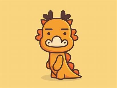 Dragon Chinese Cartoon Dribbble Am