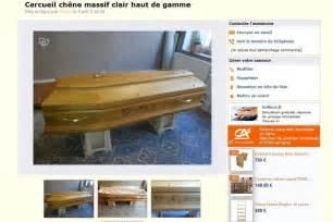 meubles de cuisine pas cher le bon coin il vend le cercueil de sa grand mère