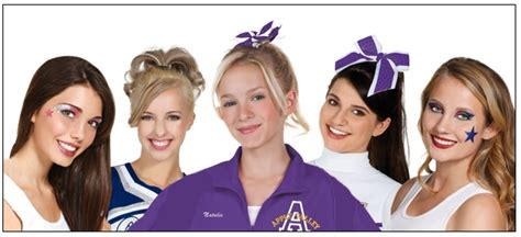 17 Best Ideas About Cheerleading Competition Hair On