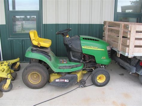deere l110 mower deck deere l110 lawn garden and commercial mowing