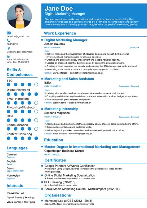 Resume Builder by The Resume Builder Bijeefopijburg Nl