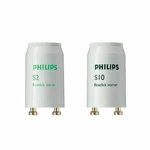 Starter Für Leuchtstoffröhre : philips s2 s10 starter z nder f r leuchtstofflampe leuchtstoffr hre neonr hre ebay ~ A.2002-acura-tl-radio.info Haus und Dekorationen