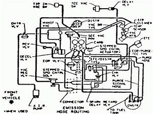 Chevy S10 Emissions Control Diagram