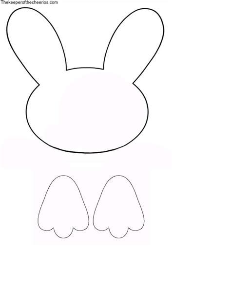 Bunny Template Best 25 Bunny Templates Ideas On Easter Bunny