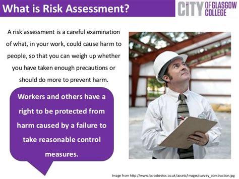 principles  risk assessment  maintaining