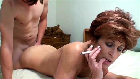 Mom Smokes While Sucking And Fucking Son Porn Spankbang