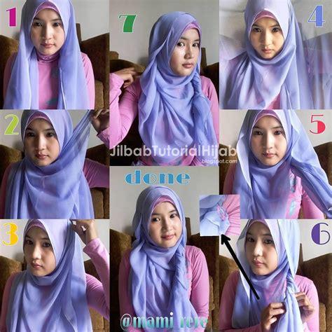video hijab tutorial segi empat terbaru tutorial hijab