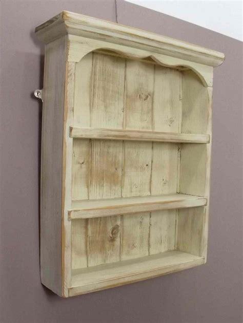 display shelves large antique pine spice rack display