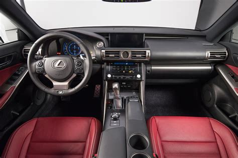 lexus rx red interior a closer look at the 2014 lexus is interior lexus enthusiast