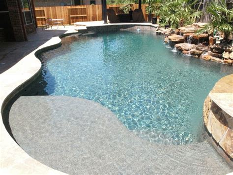 redoing bathroom ideas pebble sheen contemporary pool houston by