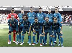 LaLiga Valencia 14 Real Madrid Real Madrid player