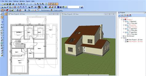 Home Design Drafting Software :  Free Architecture Software