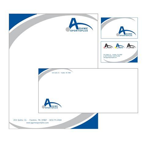business card letterhead  envelope design desktop