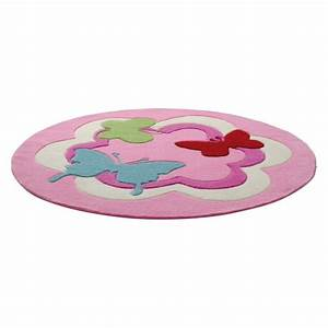 davausnet tapis chambre bebe rond avec des idees With tapis rose pour chambre bebe