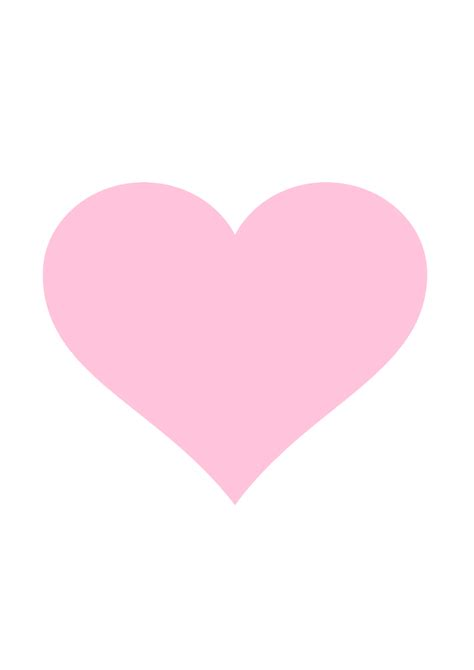 pink heart lights pink vector clipart free