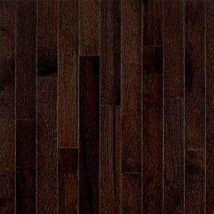 Bruce Frontier Shadow Hickory 3/4 in Thick x 2-1/4 in