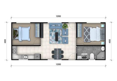 2 Bedroom Granny Flat Designs  2 Bedroom Granny Flat