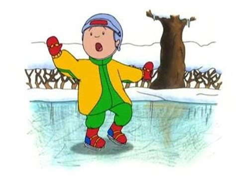 caillou scares rosie in the bathtub caillou learns to skate caillou wiki