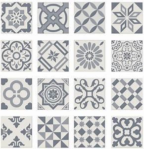 carrelage imitation anciens carreaux de ciment decor With carreau ciment bleu
