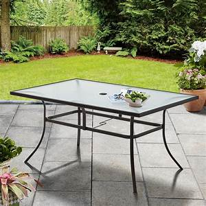 Mainstays, Heritage, Park, Outdoor, Rectangle, Patio, Dining, Table, Brown, -, Walmart, Com