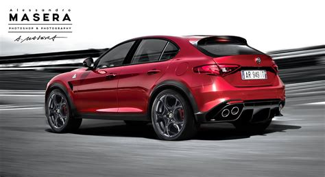 High Performance Alfa Romeo Suv Rendered Gtspirit