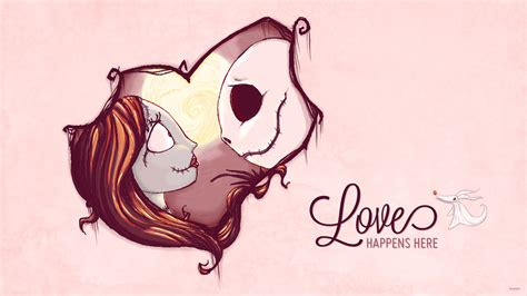 Jack & Sally Celebrate Valentine's Day