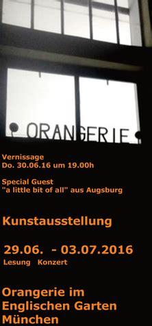 Englischer Garten München Orangerie by Kunst In Der Orangerie Englischer Garten M 252 Nchen
