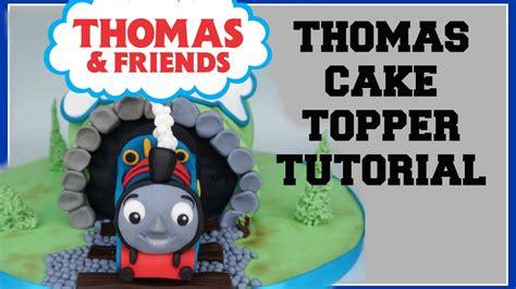 thomas  tank engine fondant topper tutorial youtube