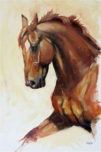 "Horse Art: ""Fervor"" by Heather Irvine Fine Art on Etsy ..."