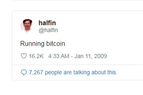 It seems that ever since he left his. Bitcoin Still Running: 11 Years After Hal Finney First Started Running Bitcoin!