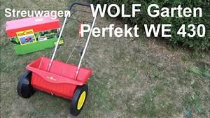 Rasen Düngen Herbst : wolf garten streuwagen perfekt we 430 test montage und ~ Watch28wear.com Haus und Dekorationen