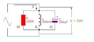 Engineermaths Rlc Parallel Circuit Formula Phasor Diagram