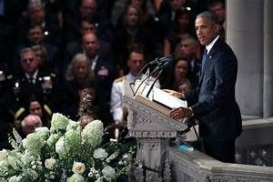 John McCain's funeral: Eulogies by George W. Bush and ...