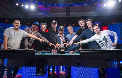 world series of poker final table 2016 world series of poker main event final table set
