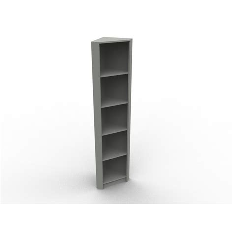 Bibliothèque sur mesure en angle modèle Virginie