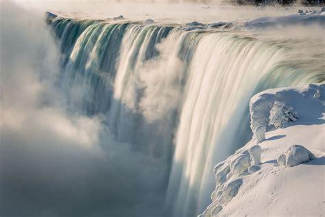 niagara winter falls sunrise ny visit usa sunset lockport frozen flickr canada niagra rd waterfall dawn
